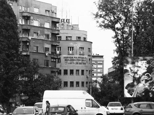 Une rue de belgrade