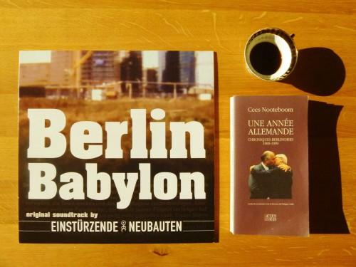 einstürzende neubauten,berlin,cees nooteboom,walter benjamin